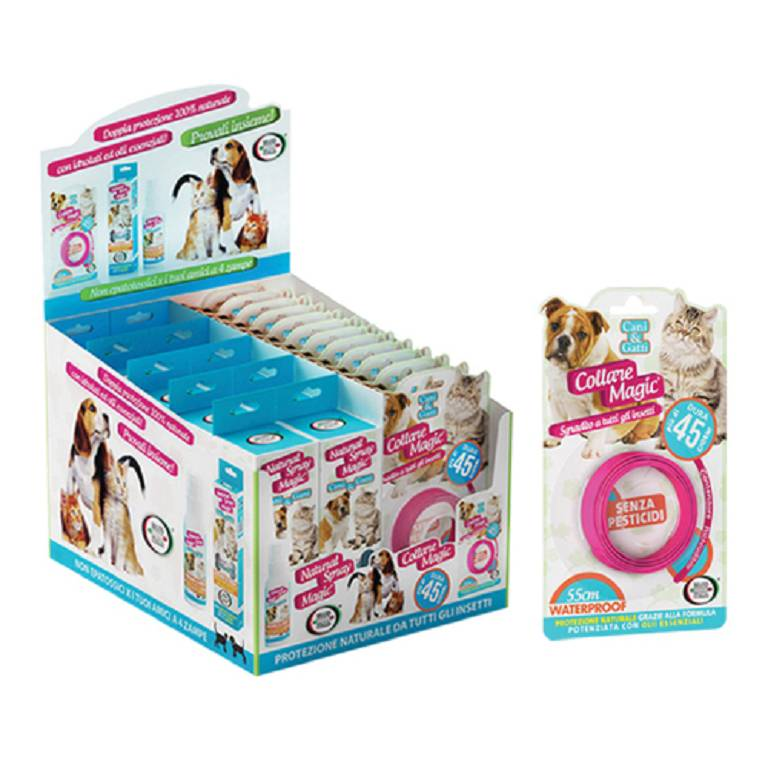 COLLARE MAGIC 45 GG CANI&GATTI
