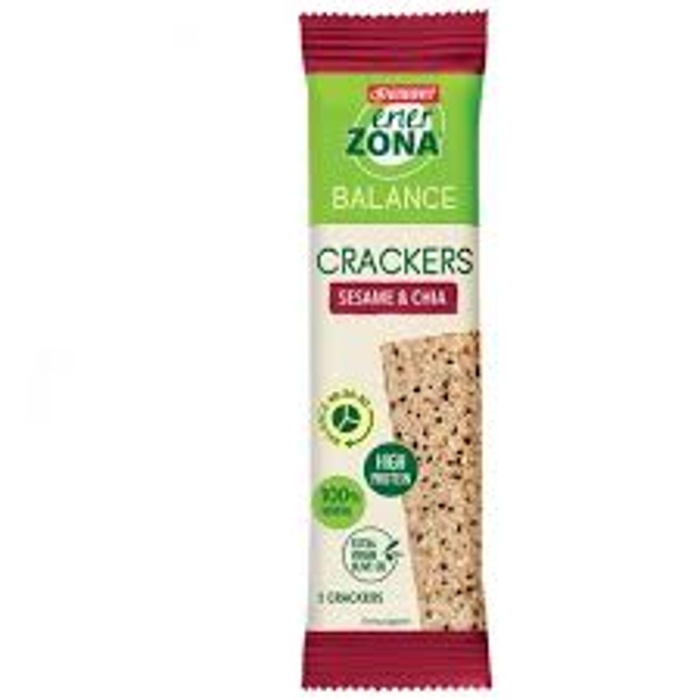 ENERZONA CRACKERS SES&CHIA 25G