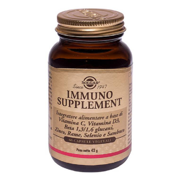 IMMUNO SUPPLEMENT 60CPS